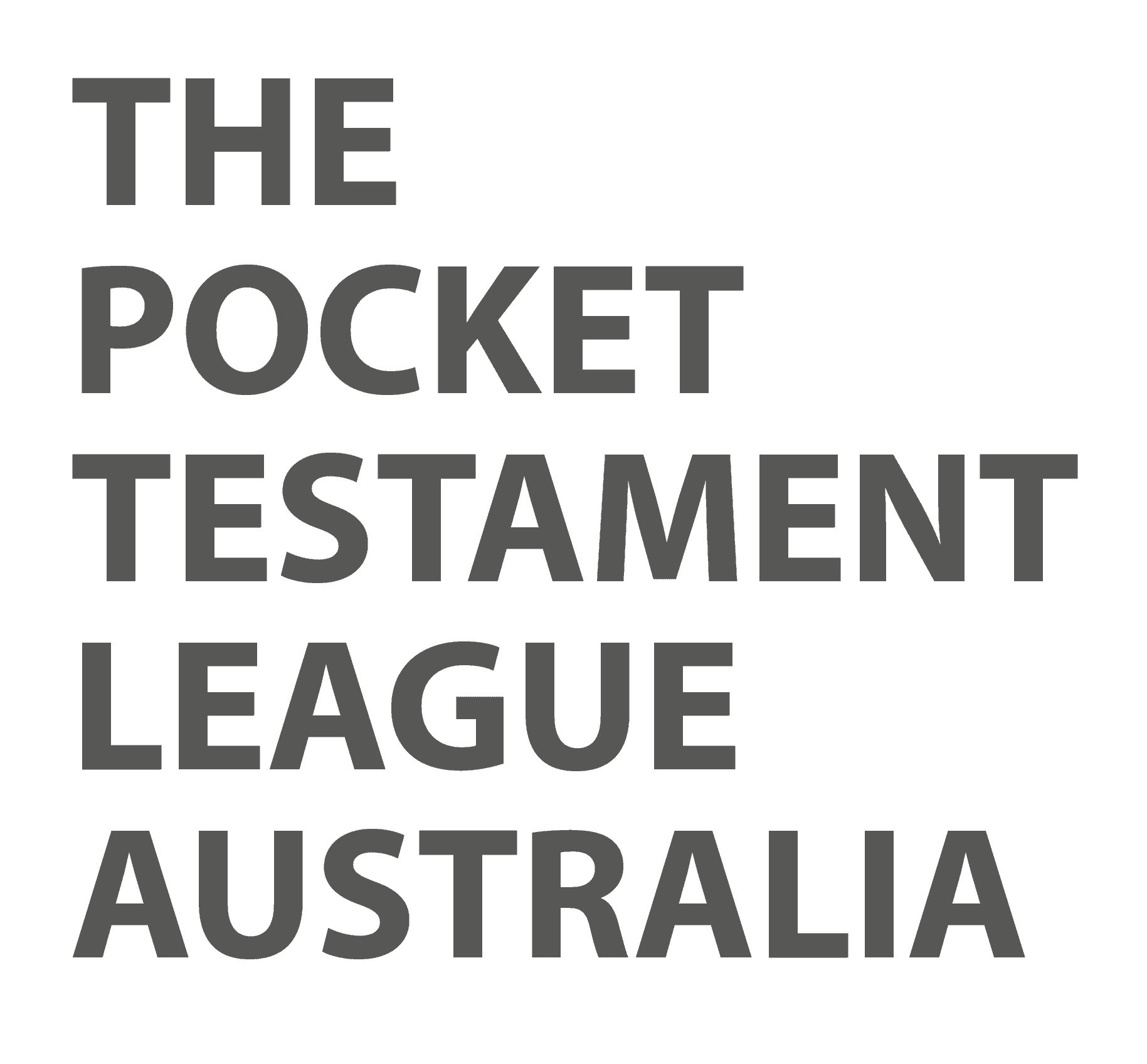 The Pocket Testament League Australia
